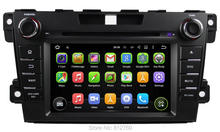 Quad Core 1024*600 HD Android 5.1.1 Car DVD GPS Navigation For MAZDA CX7 Car Radio Stereo Bluetooth Capacitive Screen Wifi 4G(China)