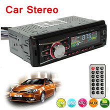 Car Electronics 12V Autoradio Audio Player 1 DIN Car Headunit Radio Kits Stereo FM Tuner AUX USB MP3 Player SD(China)