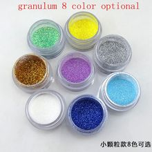 10g/lot Multicolour various kinds of Shining Bright Glitter Powder DIY for Eye Shadow Nail Art Wedding Clothing Party Decoration(China)
