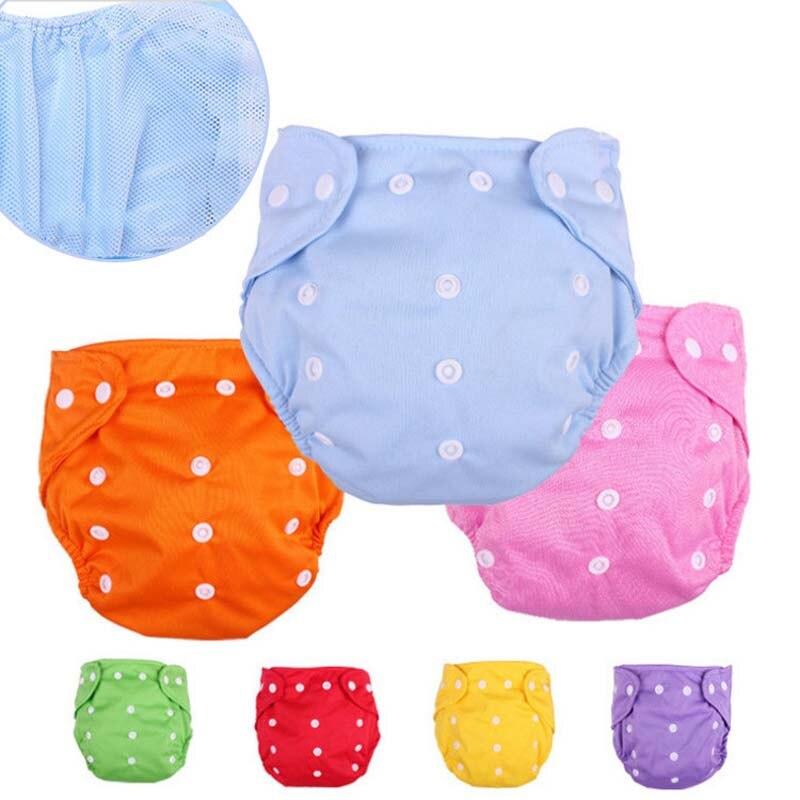 6d42da58d1a1 Детские Непромокаемые многоразовые подгузники, тренировочные штаны, трусы,  нижнее белье для мальчиков и девочек, моющиеся трусики