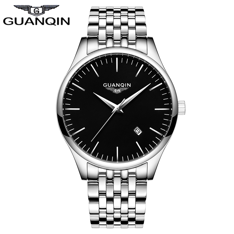 2017 Men Watches New Fashion Top Brand GUANQIN Famous Male Clock Quartz Watch Business Quartz Wrist Watches Relogio Masculino<br><br>Aliexpress