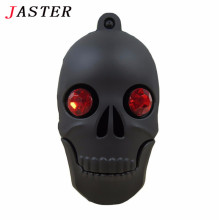 JASTER cool diamond Skull Heads pen drive monster usb flash drive pendrive 4GB 8GB 16GB 32GB cartoon memory stick