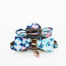 New Fashion Rose Flower bowknot button Hair crab claw clip Accessory For Women girl Hairpins headwear Clamp hair claws(China)