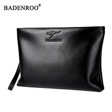 Men Genuine Leather Clutch High Quality Men Handy Bag Luxury Brand Designer Man Wristlets Phone Bags Money Clutch Casual Design(China)