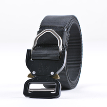 SWAT Combat Heavy Duty Knock Off Tactical Belt Men US Soldier Military Equipment Army Belts Sturdy Hook Nylon Waistband 3.8cm(China)