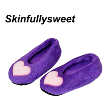 Buy 2018 New Dropshipping Warm Cotton Home Slippers Plush Female Floor Shoes Non-slip Indoor Slippers Soft Sole Shoes FOR CHILD for $3.98 in AliExpress store