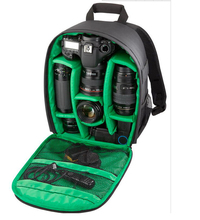 Hot Coloful Waterproof Multi-functional Digital DSLR Camera Video Bag Small DSLR Nikon Canon Camera Backpack for Photographer(China)
