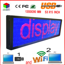 7 color LED outdoor display screen P10 doored sign head advertising propaganda window change many ways(China)