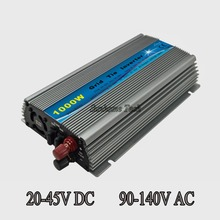 Grid Tie Inverter 1000W DC20V-45V to AC110V Pure Sine Wave Inverter Fit For 24V/30V/36V 60cells/72cells Solar Panel
