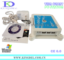 Kingdel Mini PC, Thin Client Computer with ARM11 800Mhz Processor, Win CE 6.0 OS, Microphone, Touchscreen, USB Printer Supported
