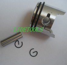 Super quality Piston Sets for 1E44F-5 engine,52CC brush cutter 52CC earth augers(China)