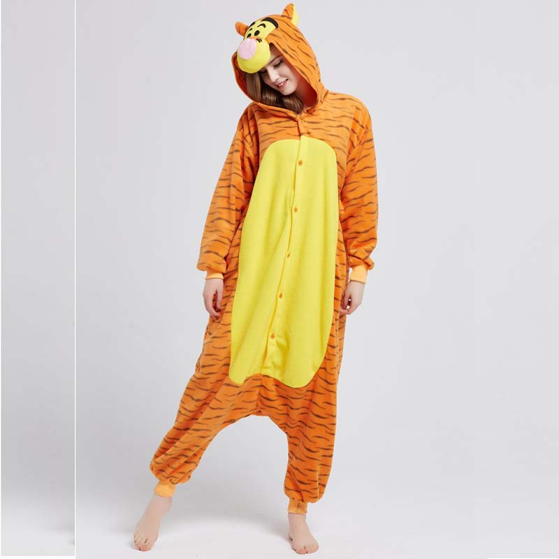 tiger adult onesie pajamas
