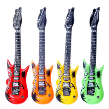 CCINEE 4Pcs/Lot 85*30Cm Colorful Guitar Inflatable Balloon,Baby Shower Foil Balloon, Party/Birthday/Wedding Decoration