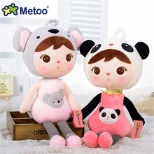 New 45cm 65cm kids Kawaii Stuffed Cloth Doll Metoo Plush Toy Rabbit Dolls For Baby Birthday Christmas Gifts Drop Shipping J826(China)