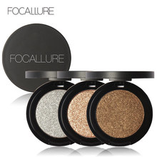 FOCALLURE 8 Colors Super Bright Pearl Shining Bright Glitter Powder Pink Diamond Eyeshadow Makeup(China)