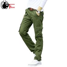 Military Style Cargo Pants Men Casual Army Multi Pocket Joggers Male Fashion Trouser Tactical Cotton Wholesale Pantalon Hombre(China)