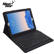 Bluetooth Keyboard Leather Case For Ipad 2 3 4 Smart Case For Apple iPad 2 iPad 3 ipad 4 9.7 Inch Case + Film + Stylus Pen(China)
