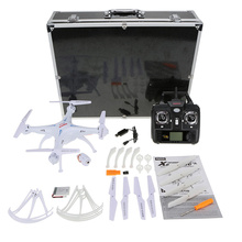 Original X5SC 4CH 2.4G 6-axis Gyro RC 2.0MP Camera FPV Quadcopter with Aluminum Carrying Case & Fluorescent Sets(China)