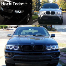 Excellent SMD 5050 LED white headlight halo angel demon eyes kit for BMW E53 X5 1999 2000 2001 2002 2003 2004 2005 2006