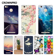 Buy CROWNPRO Phone Case FOR Xiaomi Redmi 3 PRO Soft Silicone Cover Case FOR Xiaomi Redmi 3S 3 PRO 3 S Painting TPU Back Protector for $1.20 in AliExpress store