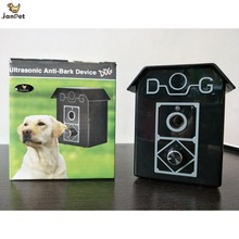 JANPET Ultrasonic Dog Repeller Waterproof Anti-Bark Device Stop Dog Barking Pet Training System(China)
