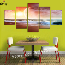 Abstract Canvas Painting Sea Wave painting Wall Framed Decoration Fashion Picture Art No F1723