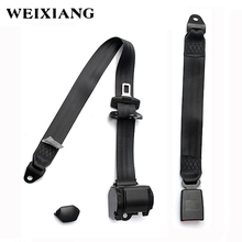 E24 Safety Certificate ELR 3 Point Car Safety Belt Lap Automotive Seat Belts for Cars Bus Truck Universal 3Pt