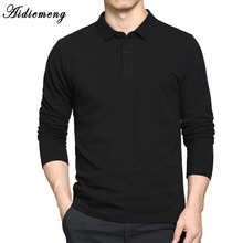 Aidiemeng Men Polo Shirt 2017 Autumn Fashion Polo Shirts Men Long Sleeve Casual Camiseta Masculinas Plus Size Polos Sweatshirt(China)