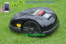 2017 NEWEST 5th Gerneration Smartphone WIFI App Control Robot Grass Mower Updated with NEWEST GYROSCOPE Function,CE&ROHS
