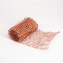 1-20 Meters Length 100mm Width Copper Mesh For Distillation Reflux Moonshine Brewing Pest Control