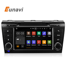 Quad Core Android 5.1 System Head Unit Auto Stereo For Old Mazda 3 04-09 Car DVD Player WIFI 3G BT IPOD AUX 1024*600 OBD DVR