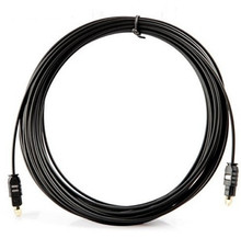 Wholesale OD2.2mm Digital Optical Optic Fiber Toslink Audio Cable AV Thin Cable 0.2m 1m 1.5m 1.8m 3m 5m 8m 10m 15m 20m 25m 30m