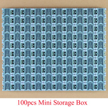 100pcs New High Quality SMD SMT component container storage boxes electronic case kit free shipping(China)