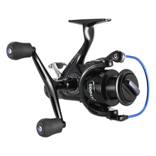 9+1BB Spinning Fishing Reels Left/Right Handle Metal Spool Stainless Steel Shaft Rear Drag Wheel 3000-6000 Carp Fishing Tackle(China)