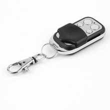 Portable 433mhz Garage Door Remote Control Presentation Universal Car Gate Cloning Rolling Code Remote Duplicator Opener Key Fob(China)