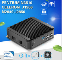 Industrial PC for Game Celeron J1900 quad core 5*USB Thin Client Fanless PC Support Linux OS Ubuntu industrial computer(China)