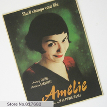 Vintage Posters Kraft Paper Painting Angel Love Beautiful Movie Poster Hanging Picture Photo Printed Draw Hanging Picture