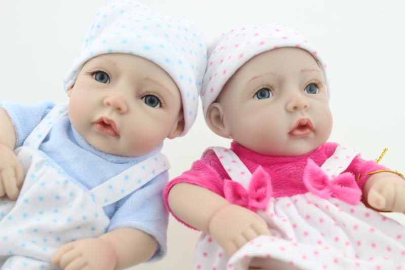 Sleeping Doll 11/28cm soft silicon vinyl doll Reborn baby girl boy doll baby alive boneca kids toys<br><br>Aliexpress
