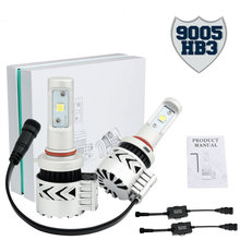 8G H4 9005 HB4 LED Headlight Bulb 72W 12000LM 6500K White Crees H7 LED Headlight Bulb for Cars Replace HID & XENON Headlights