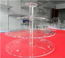 Free Shipping 4Tier Acrylic Lollipop Display Stand, Candy Holder For Home Decor/ Wedding Favors (Size 7.5,17.5,30,30cm)