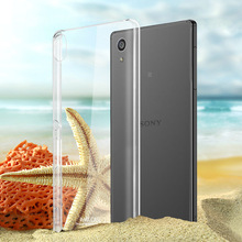 Crystal Transparent Hard Plastic PC Clean Phone Case Cover For SONY Xperia C S39H C3 C5 M2 M5 Aqua X Performance XZ XA Dual Bags