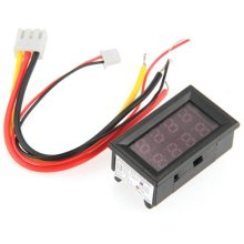 MYLB-Voltmeter Ammeter LED Digital Multimeter Voltmeter Panel Meter 0-100V 10A