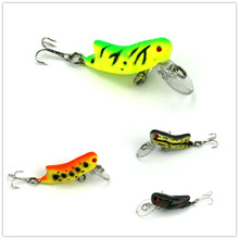 4.1g 4.5cm Insect fly Fishing Lure Perch pesca isca artificial Locust Cricket Lure Treble Barb Hook Fishing Tackle(China)