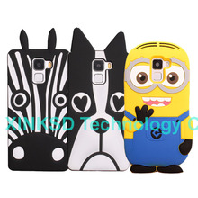 For Huawei Honor 7 Case Soft Silicon Despicable Me Yellow Minions Zebra Dog Skin Cartoon Cover Honor 7 Rubber Mobile Phone Bag(China)