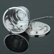 1PC Practical Tea Ball Strainer Mesh Infuser Filter 304 Stainless Steel Herbal New -Y102(China)
