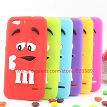Funny Chocolate Candy Silicone Mobile Phone Bags Cover Case For ZTE Blade S6