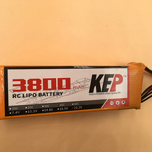 Buy KEP 4S lipo battery 14.8v 3800mAh 35C rc helicopter rc car rc boat quadcopter Li-Polymer battey for $31.99 in AliExpress store