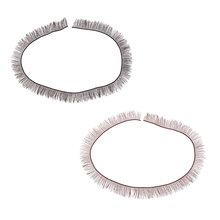 Wholesale 1Pc Universal Cute 200 x 8 mm Charming BJD SD Dolls Big Pretty Eye Make Up Eyelashes Strip Essential Doll Accessory