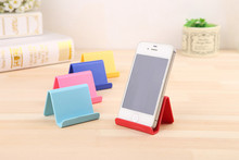Korean Style Mobile Phone Holder Creative Cute Candy Mini Portable Phones Fixed Holder Simple Debris Storage Rack hg