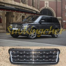 Fit for Land Rover Range Rover Vogue 2013 2014 2015 2016 2017 front mesh front grille grill